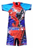 Boy's Swimmers - Spiderman Rashsuit - Size 6 - Blue - Limited Stock
