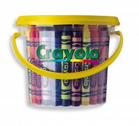 Crayola Large Crayon Deskpack - 48 Crayons in 8 colours