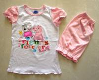 Girl's 100% Cotton Summer Pyjamas - Peppa Pig Friends Forever Pyjamas - Size 2 - Light Pink - Limited Stock