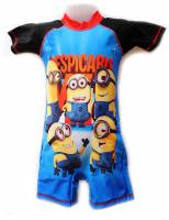 Boy's Swimmers - Despicable Me Rashsuit - Size 4 - Blue/Black - Limited Stock