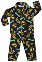 Boy's Flannelette Pyjamas (100% Cotton) - Transformers (Bumblebee) Pyjamas - Size 3 - Black - Limited Stock