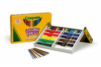240 Crayola Full Size Coloured Pencils Classpack - 12 Colours