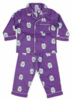 a4bc319cd133 purple hoot flanellette pjs size4 - Children s Flannelette Pyjamas ...