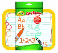 Crayola ABC Whiteboard (Crayola ABC Dry Erase Board) - Limited Stock 9 Available
