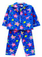 Boy's Flannelette Pyjamas (100% Cotton) - George Pig Pyjamas - Size 5 - Blue - Limited Stock