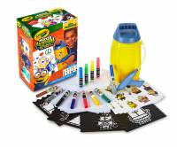 Girl Marker /& Stencil Accessory Pack Crayola Marker Airbrush Accessory Pack