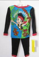 Boy's 100% Cotton Spring/Autumn Pyjamas - Disney Jake and the Neverland Pirates Pyjamas - Size 5 - Blue/Black - Limited Stock