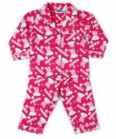 Girl's Flannelette Pyjamas (100% Cotton) - Peppa Pig Pyjamas - Size 3 - Pink - Limited Stock