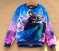 Girl's Jumpers - Disney Frozen Jumper (Elsa and Anna Jumper) - Size 5 - Limited Stock