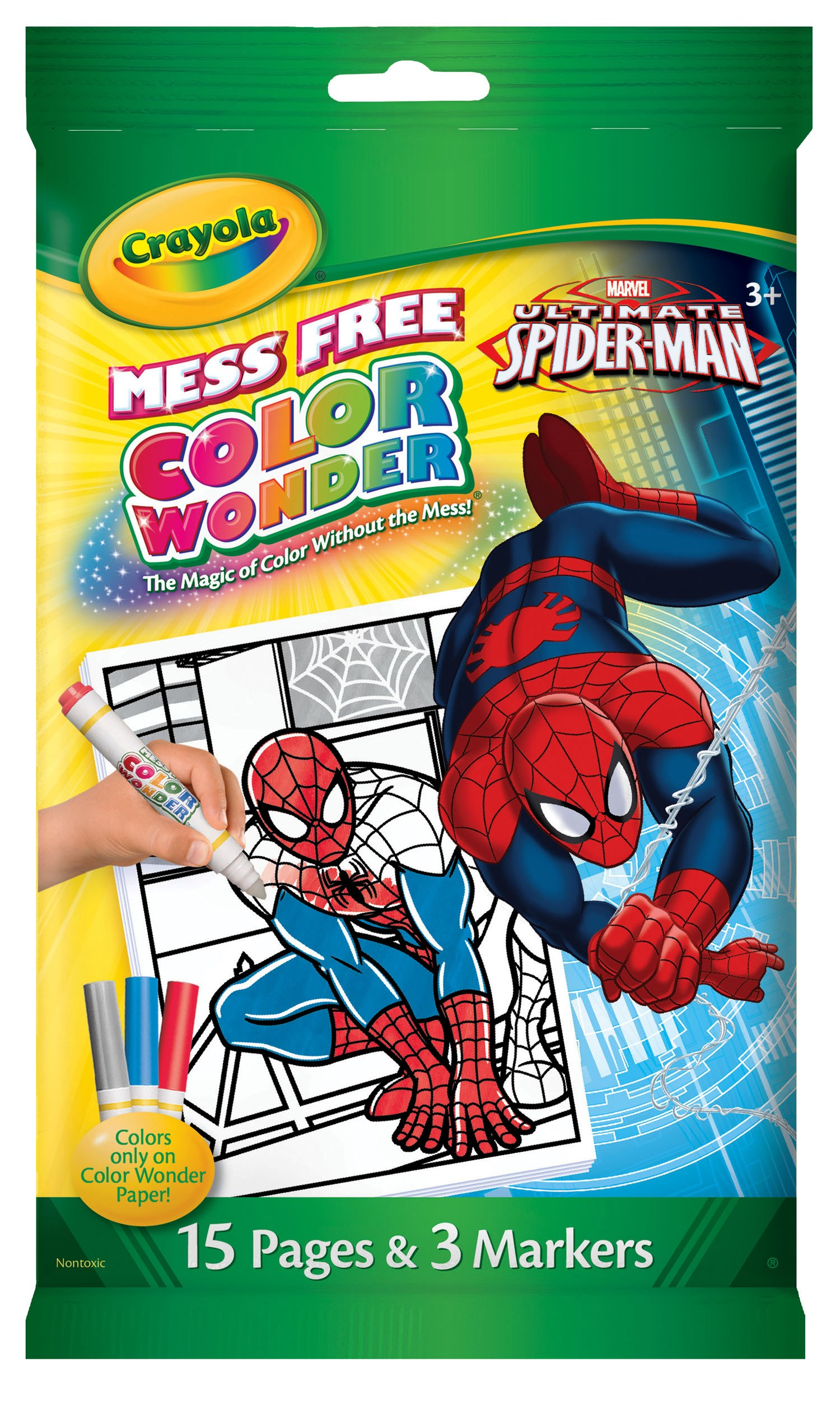 75-2069 - Crayola Colour Wonder (Color Wonder) Mini Colouring Book ...